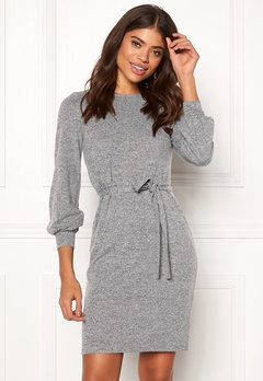 Happy Holly Liz dress Grey melange Bubbleroom.no