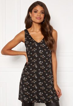 Happy Holly Love tunic Black / Patterned Bubbleroom.no