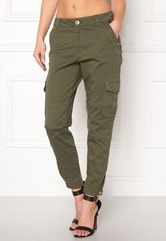 Happy Holly Lucy trousers Khaki green Bubbleroom.no