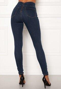 Happy Holly Lyra zip pants Medium denim bubbleroom.no