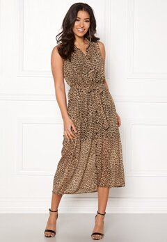 Happy Holly Maddy dress Leopard Bubbleroom.no