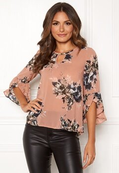 Happy Holly Madelyn Blouse Pink / Patterned Bubbleroom.no