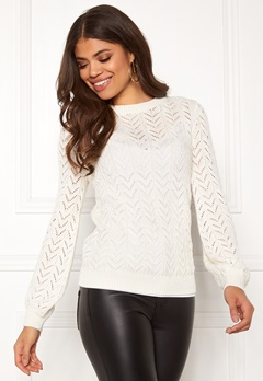 Happy Holly Malinda sweater Light beige Bubbleroom.no