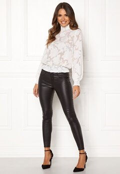 Happy Holly Mandy blouse Offwhite Bubbleroom.no