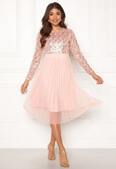 Happy Holly Mandy dress Dusty pink Bubbleroom.no