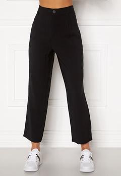 Happy Holly Maria straight leg pants Black Bubbleroom.no
