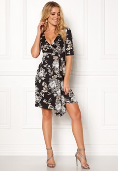 Happy Holly Mariana dress Black / Patterned Bubbleroom.no