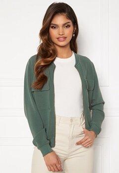 Happy Holly Maya pocket jacket Dusty green Bubbleroom.no