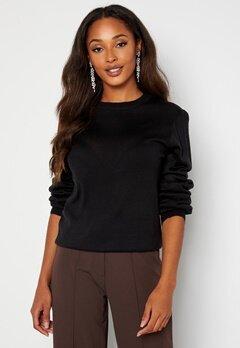 Happy Holly Melina sweater Black bubbleroom.no