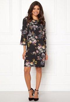 Happy Holly Melinda dress Black / Patterned Bubbleroom.no