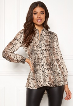Happy Holly Mia blouse Animal print Bubbleroom.no