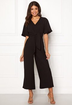Happy Holly Michelle Jumpsuit Black Bubbleroom.no