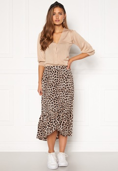Happy Holly Michelle skirt Leopard Bubbleroom.no