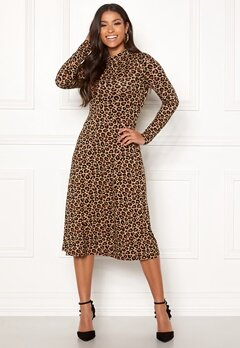 Happy Holly Miriana dress Leopard / Patterned Bubbleroom.no