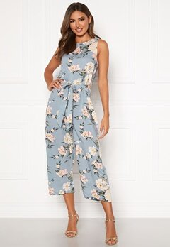 Happy Holly Mollie jumpsuit Light blue / Patterned Bubbleroom.no