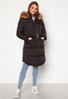 Happy Holly Patricia padded jacket Black Bubbleroom.no
