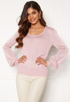 Happy Holly Pembe sweater Dusty pink Bubbleroom.no