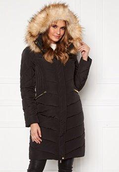 Happy Holly Rachel long jacket Black Bubbleroom.no
