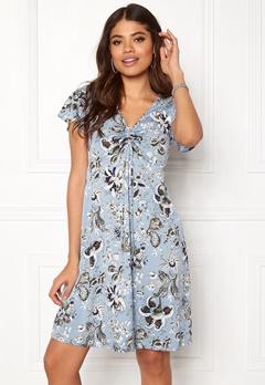 Happy Holly Reanna dress Medium blue / Patterned Bubbleroom.no