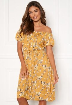 Happy Holly Rebecca dress Yellow / Patterned Bubbleroom.no