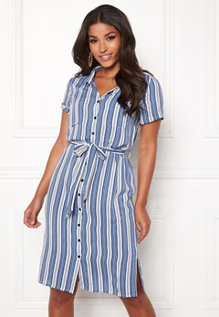 Happy Holly Ronja shirt dress Striped Bubbleroom.no