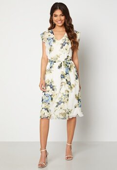 Happy Holly Sally dress White / Floral Bubbleroom.no