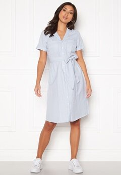 Happy Holly Sandra ss shirt dress Striped Bubbleroom.no