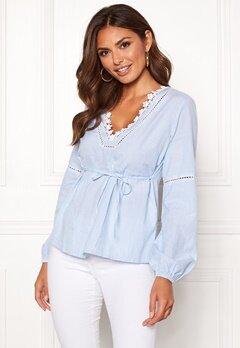 Happy Holly Sanna blouse Striped Bubbleroom.no