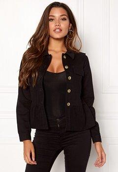 Happy Holly Sanne jacket Black Bubbleroom.no