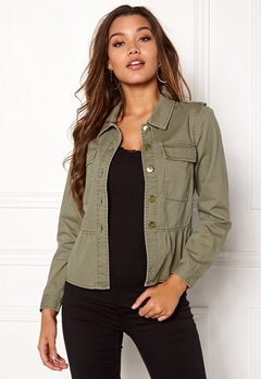 Happy Holly Sanne jacket Khaki green Bubbleroom.no