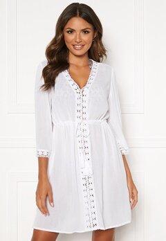 Happy Holly Sienna beach tunic White Bubbleroom.no
