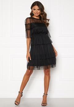 Happy Holly Smilla mesh dress Black Bubbleroom.no