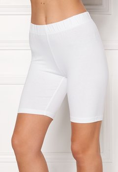 Happy Holly Sofia short leggings White Bubbleroom.no