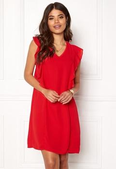Happy Holly Stella dress Red Bubbleroom.no