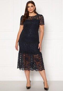 Happy Holly Taylor occasion lace dress Dark blue Bubbleroom.no