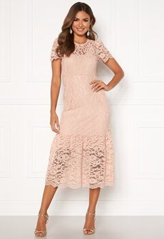 Happy Holly Taylor occasion lace dress Light pink Bubbleroom.no