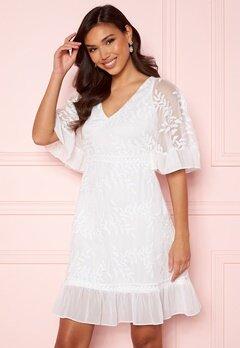 Happy Holly Teresa dress White Bubbleroom.no