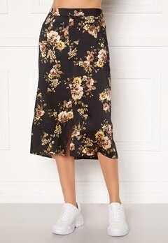 Happy Holly Teresa skirt Black / Patterned Bubbleroom.no