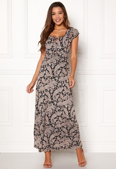 Happy Holly Tessie maxi dress Black / Patterned Bubbleroom.no
