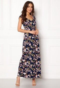 Happy Holly Tessie maxi dress Blue / Patterned Bubbleroom.no