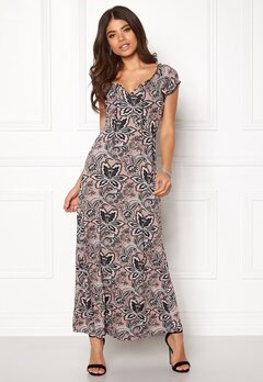 Happy Holly Tessie maxi dress Pink / Patterned Bubbleroom.no