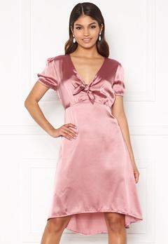 Happy Holly Therese Shiny Dress Lavender bubbleroom.no