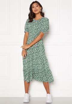 Happy Holly Tris dress Green / Patterned Bubbleroom.no