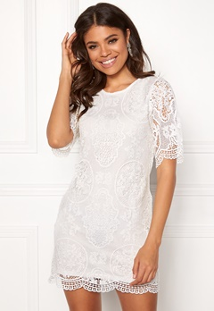 Happy Holly Vickan lace dress White Bubbleroom.no