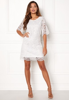 Happy Holly Vicky lace dress White Bubbleroom.no