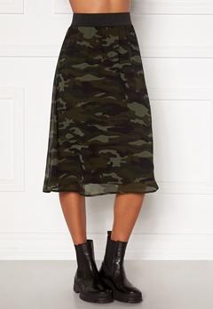 Happy Holly Zoey asymmetric skirt  Camouflage Bubbleroom.no