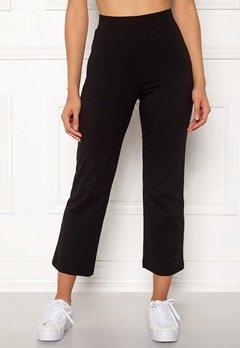 Happy Holly Maisie tricot pants Black Bubbleroom.no