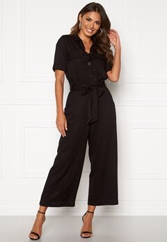 Happy Holly Sarah utility jumpsuit Black Bubbleroom.no