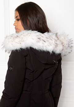 Hollies Collar Fake Fur White Bubbleroom.no