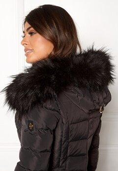 Hollies Collar Hoodedge Fake Fur Blk Bubbleroom.no